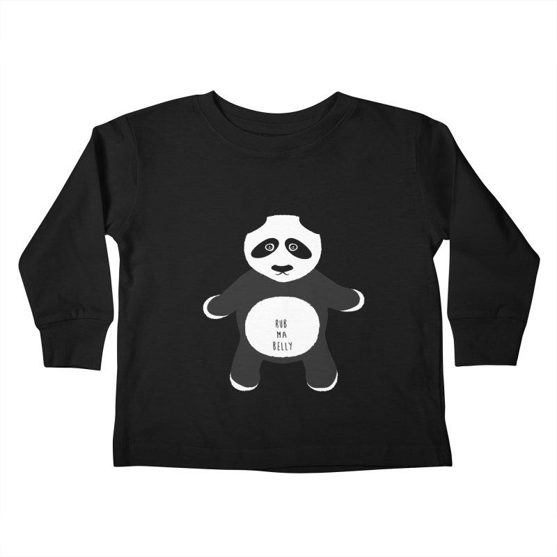 Lucky Panda Kids Toddler Longsleeve T-Shirt by Flourish & Flow's Artist Shop