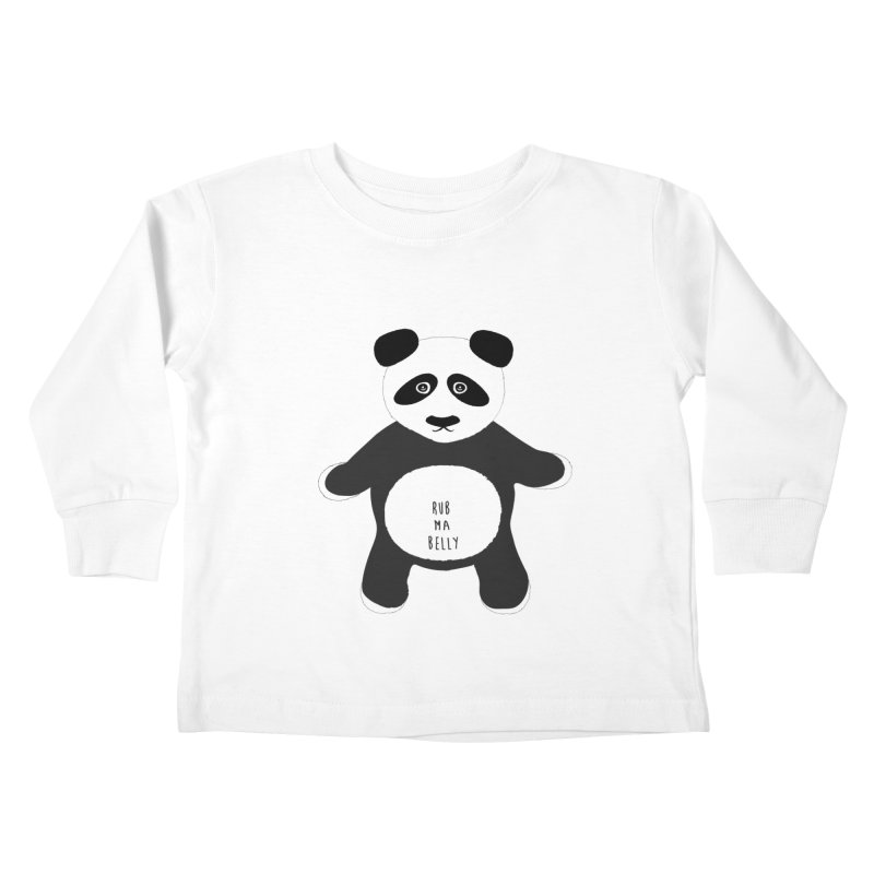 Lucky Panda Kids Toddler Longsleeve T-Shirt by Flourish & Flow's Artist Shop