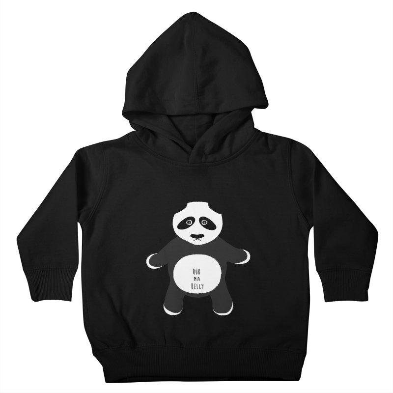 Lucky Panda Kids Toddler Pullover Hoody by Flourish & Flow's Artist Shop