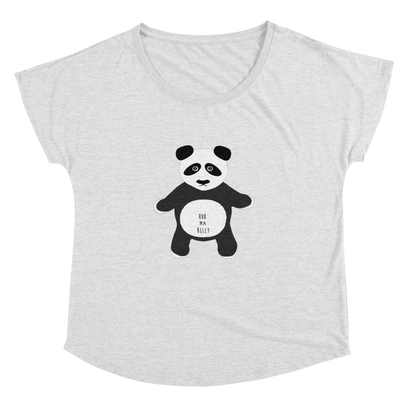 Lucky Panda Women's Dolman by Flourish & Flow's Artist Shop