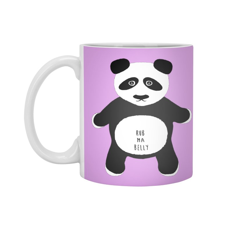 Lucky Panda Accessories Mug by Flourish & Flow's Artist Shop