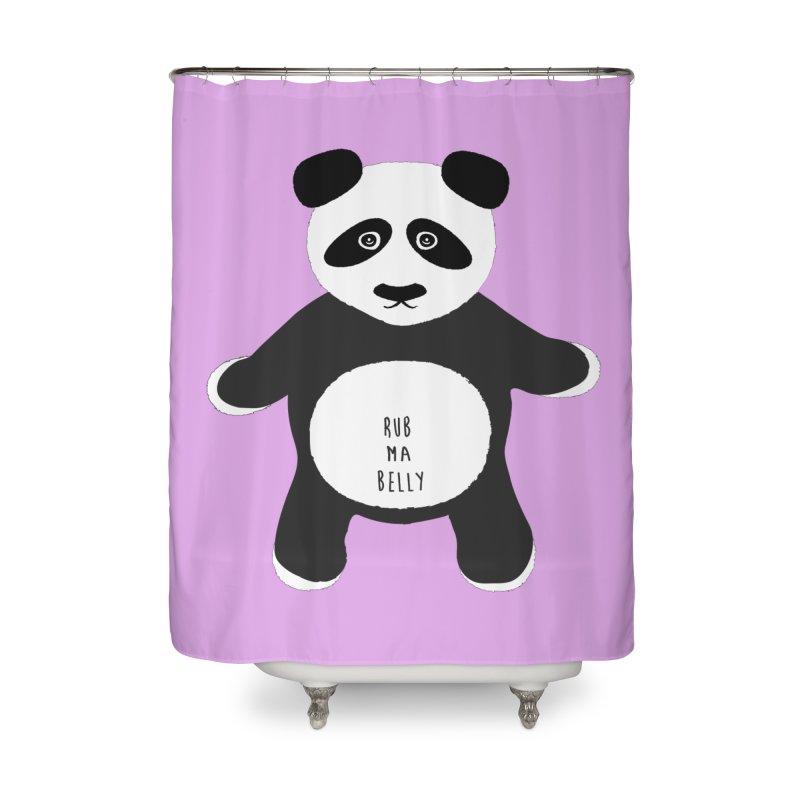 Lucky Panda Home Shower Curtain by Flourish & Flow's Artist Shop