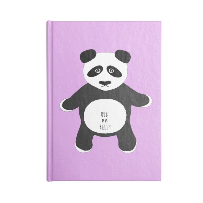 Lucky Panda Accessories Notebook by Flourish & Flow's Artist Shop