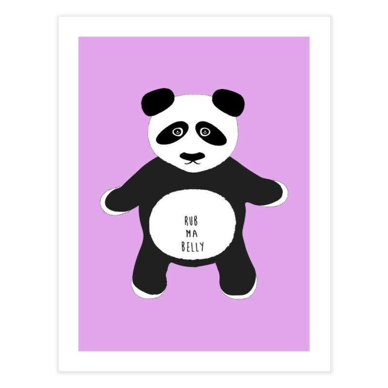 Lucky Panda Home Fine Art Print by Flourish & Flow's Artist Shop
