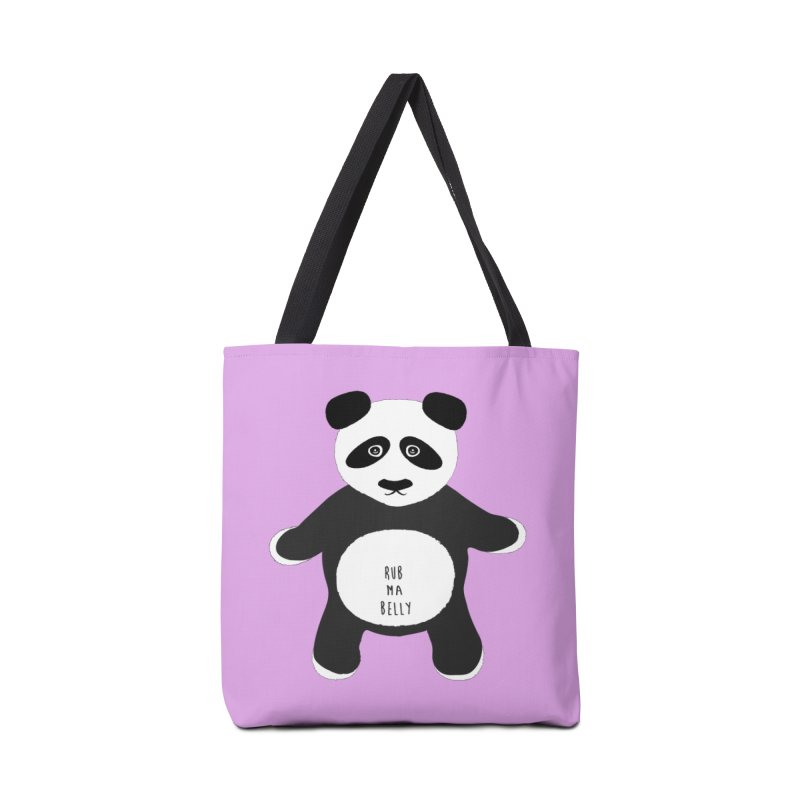 Lucky Panda Accessories Bag by Flourish & Flow's Artist Shop