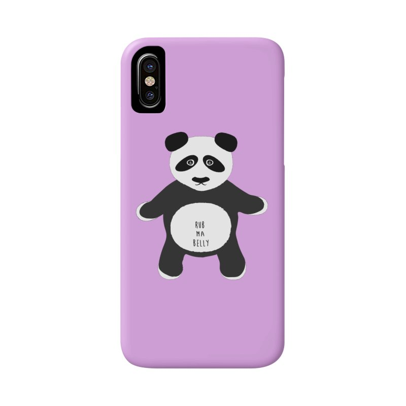 Lucky Panda Accessories Phone Case by Flourish & Flow's Artist Shop