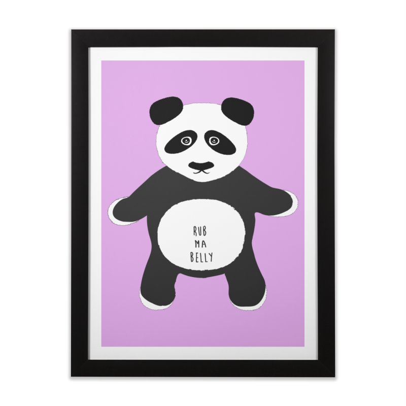 Lucky Panda Home Framed Fine Art Print by Flourish & Flow's Artist Shop