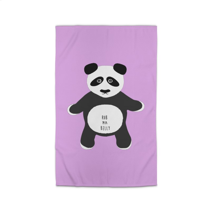 Lucky Panda Home Rug by Flourish & Flow's Artist Shop