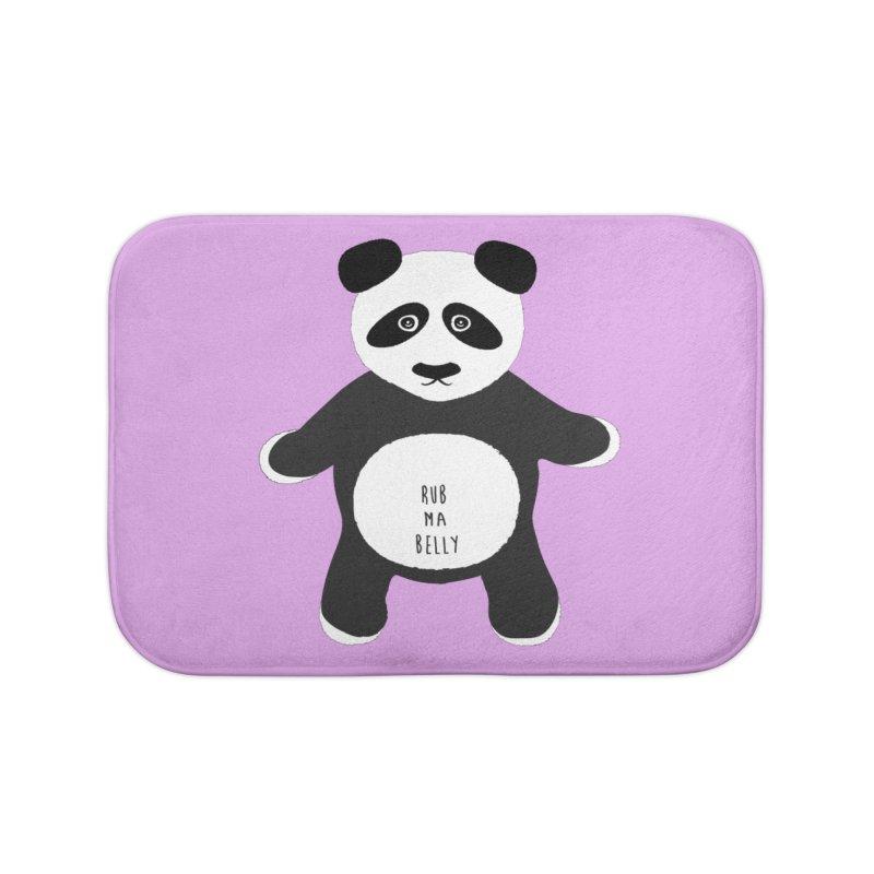 Lucky Panda Home Bath Mat by Flourish & Flow's Artist Shop