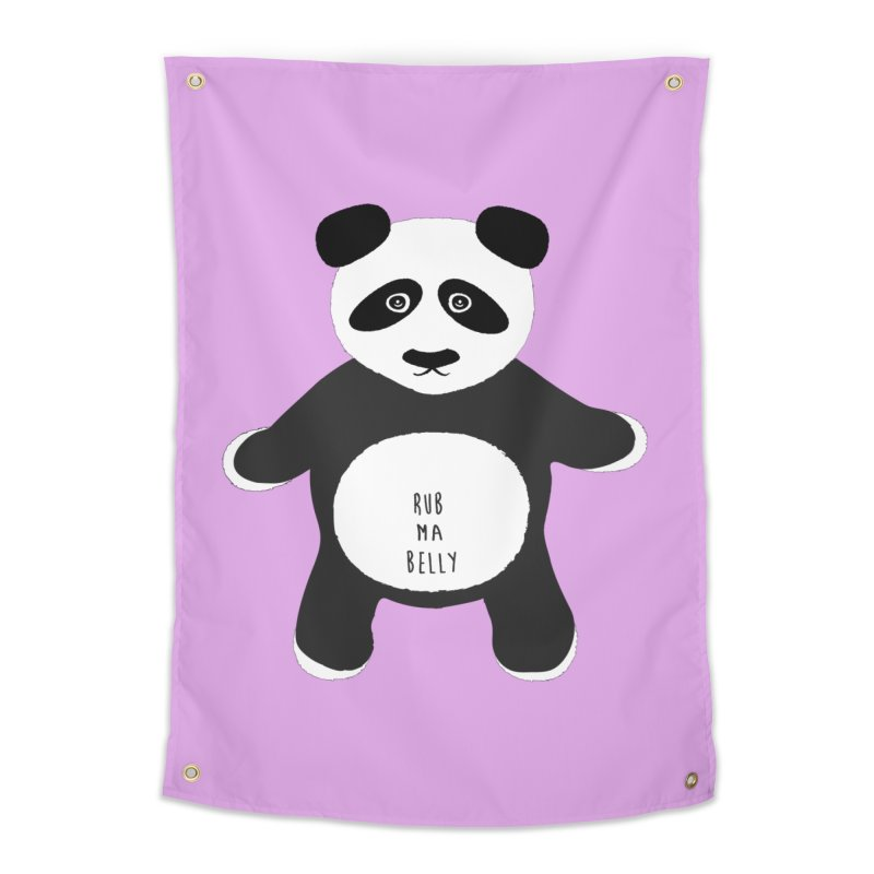 Lucky Panda Home Tapestry by Flourish & Flow's Artist Shop