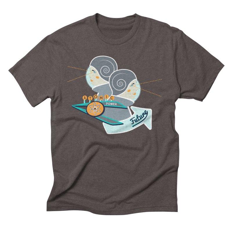 Future Vision Men's Triblend T-Shirt by Flourish & Flow's Artist Shop