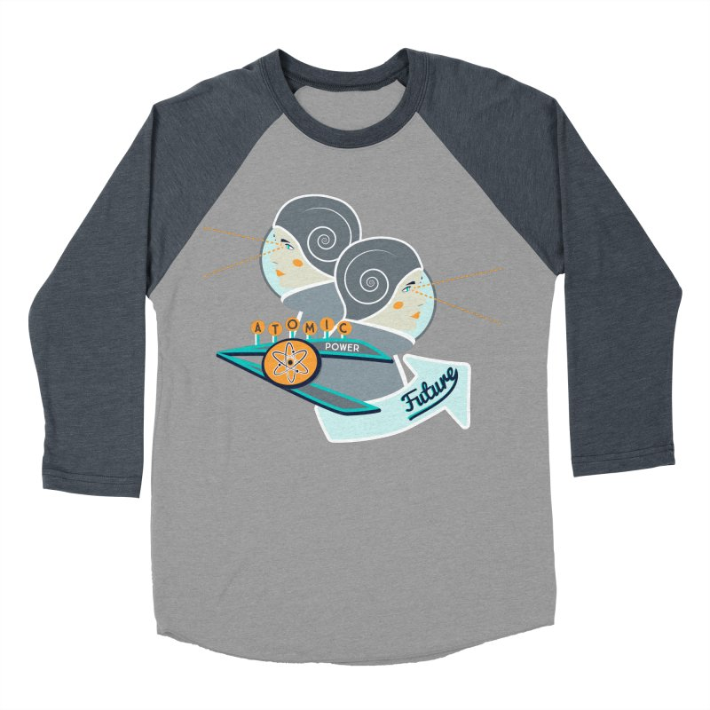 Future Vision Men's Baseball Triblend T-Shirt by Flourish & Flow's Artist Shop