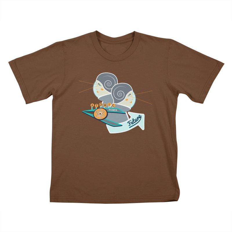Future Vision Kids T-Shirt by Flourish & Flow's Artist Shop