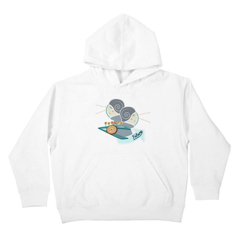 Future Vision Kids Pullover Hoody by Flourish & Flow's Artist Shop