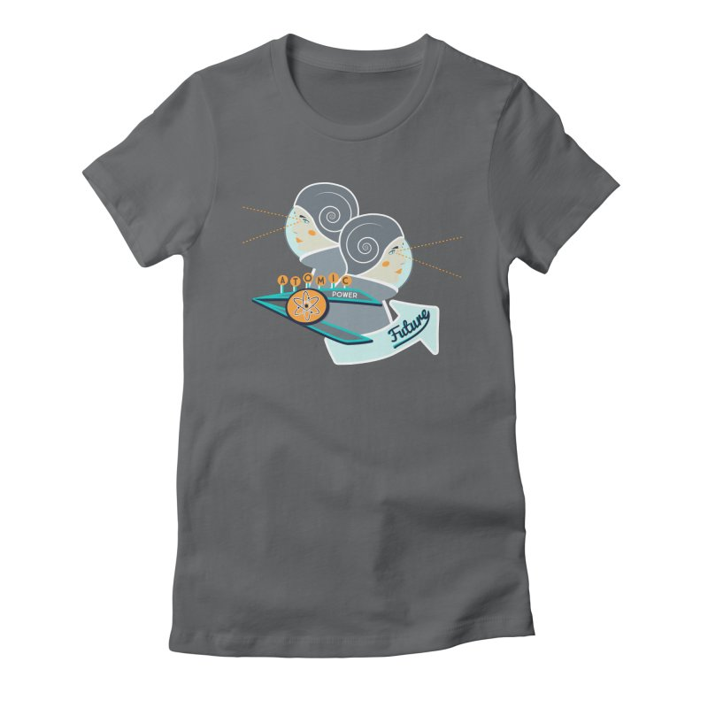 Future Vision Women's Fitted T-Shirt by Flourish & Flow's Artist Shop