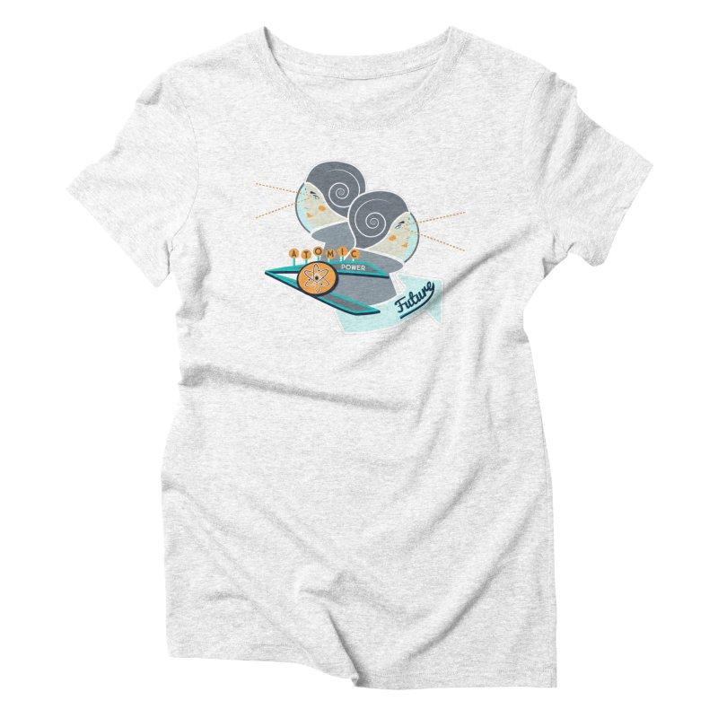 Future Vision Women's Triblend T-shirt by Flourish & Flow's Artist Shop