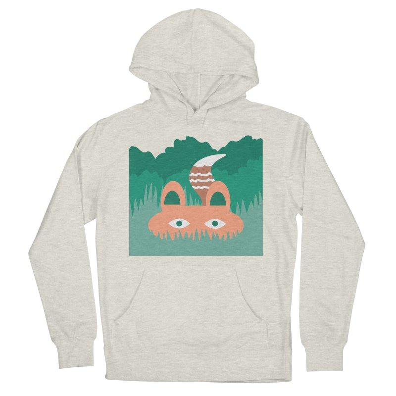 Hide and Seek Fox Men's Pullover Hoody by Flourish & Flow's Artist Shop