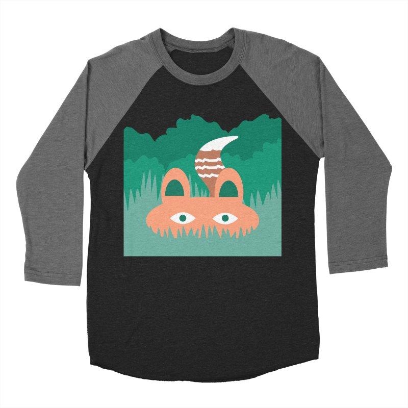 Hide and Seek Fox Women's Baseball Triblend T-Shirt by Flourish & Flow's Artist Shop