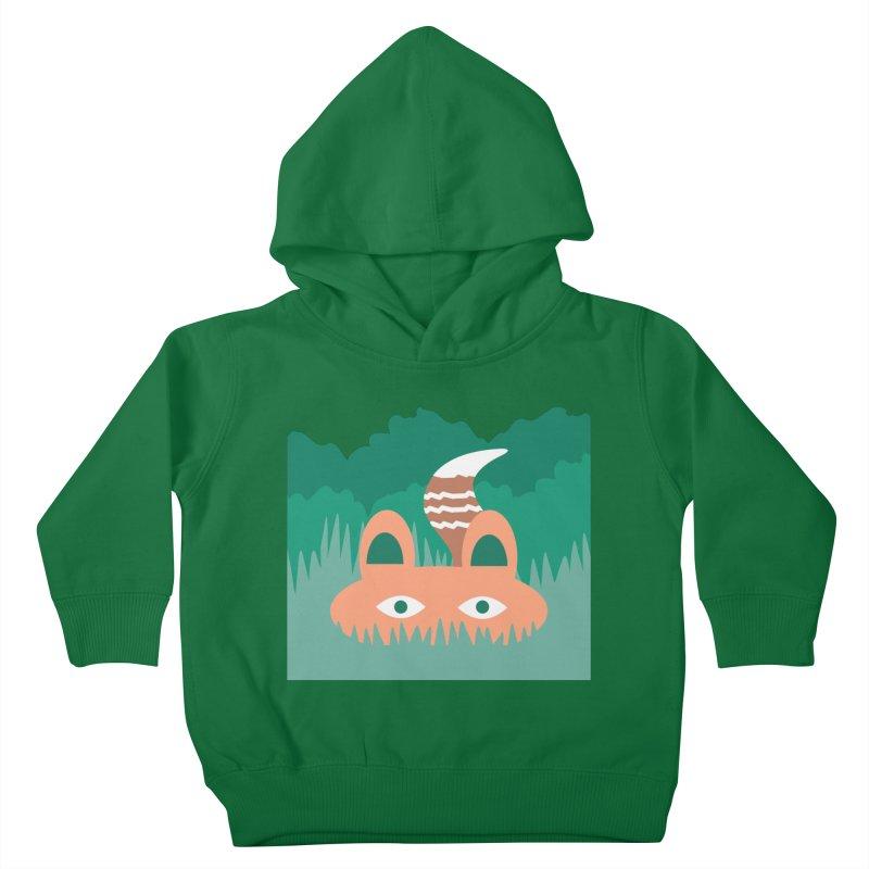Hide and Seek Fox Kids Toddler Pullover Hoody by Flourish & Flow's Artist Shop