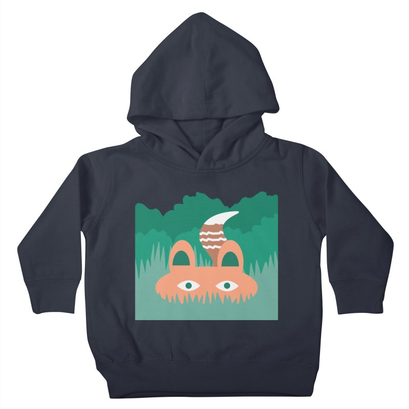 Hide and Seek Fox Kids Toddler Pullover Hoody by Flourish & Flow's Artist Shop