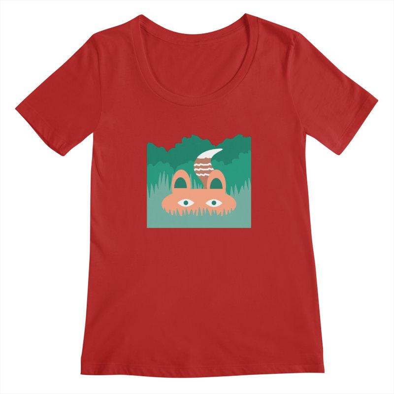 Hide and Seek Fox   by Flourish & Flow's Artist Shop