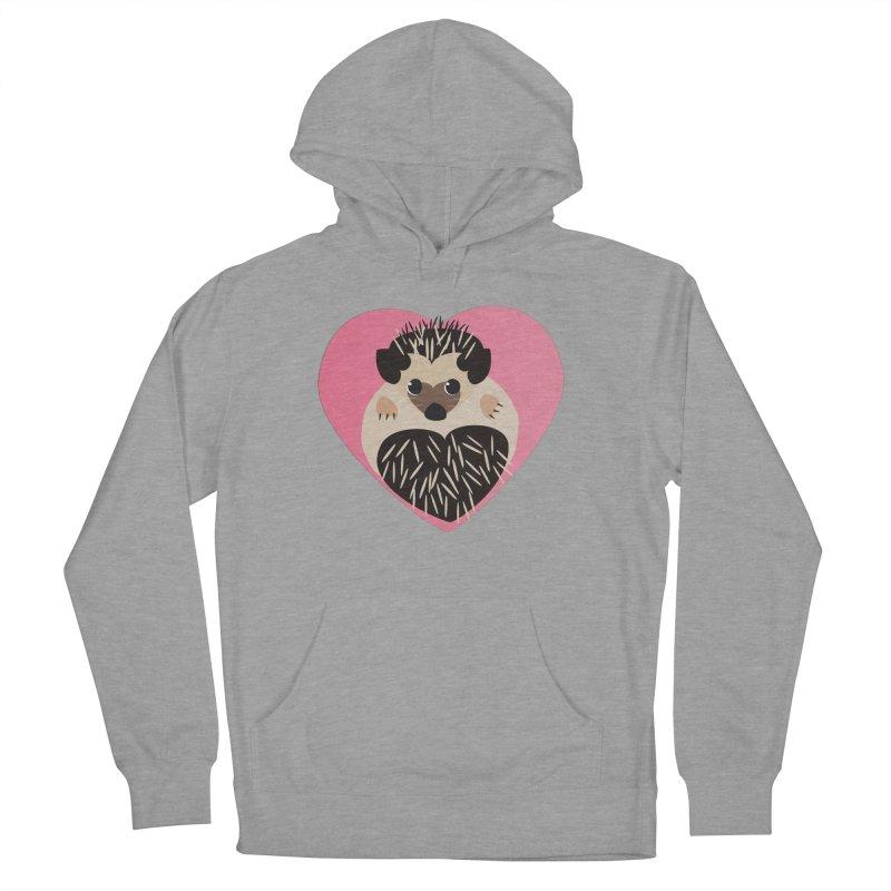 Hedgehog Loves You Women's Pullover Hoody by Flourish & Flow's Artist Shop