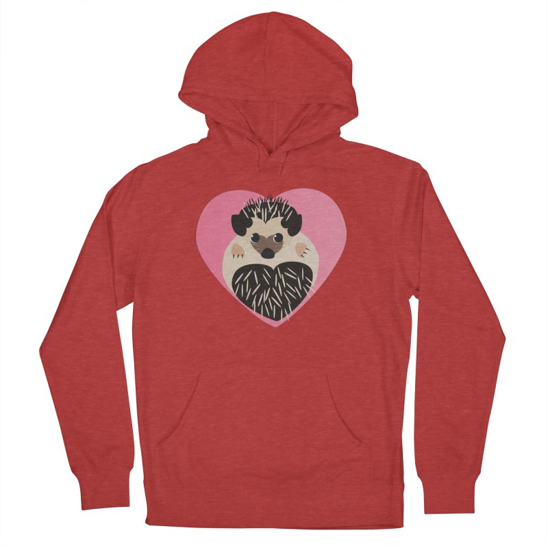 Hedgehog Loves You Women's Pullover Hoody by Flourish & Flow's Artist Shop