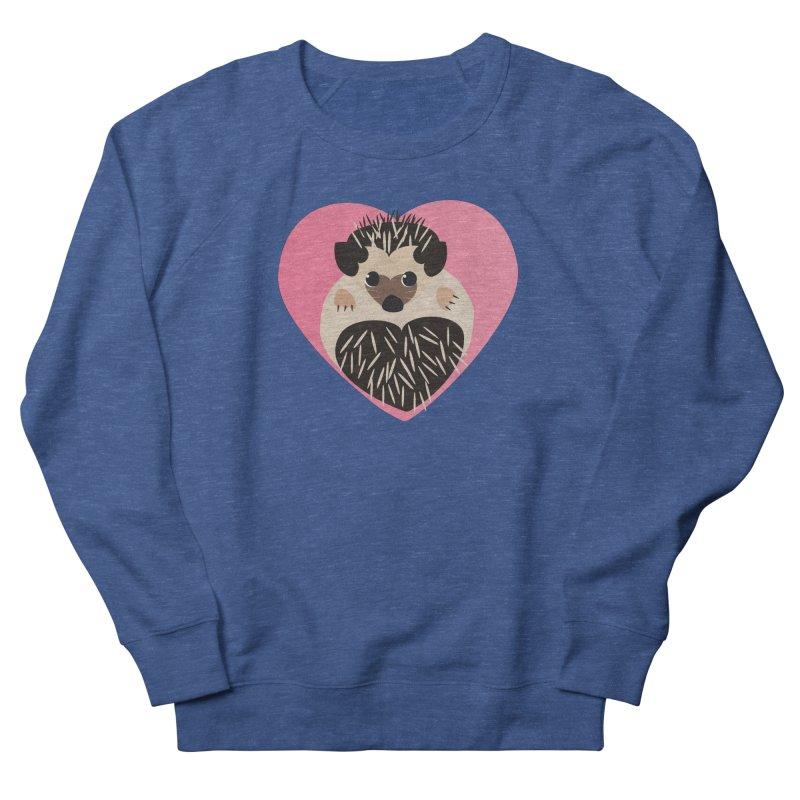 Hedgehog Loves You Men's Sweatshirt by Flourish & Flow's Artist Shop