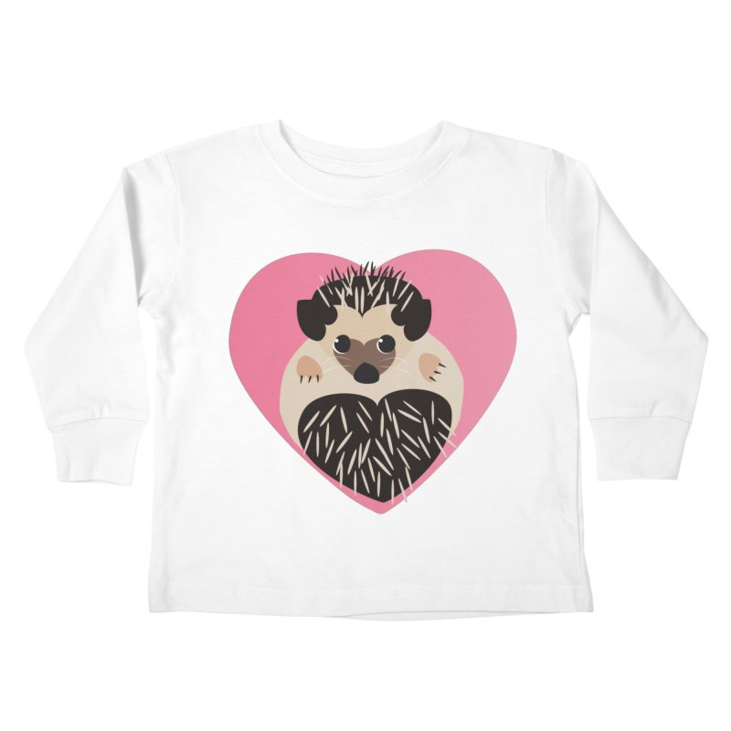 Hedgehog Loves You   by Flourish & Flow's Artist Shop