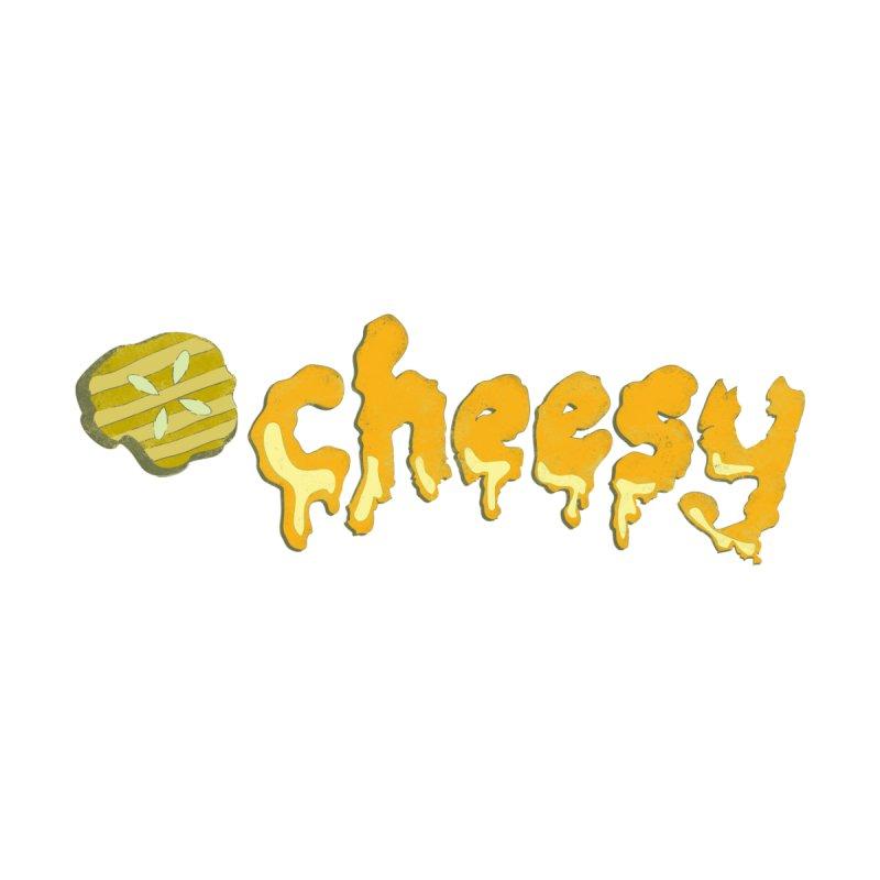 Cheesy T-shirt Men's T-shirt by Flourish & Flow's Artist Shop
