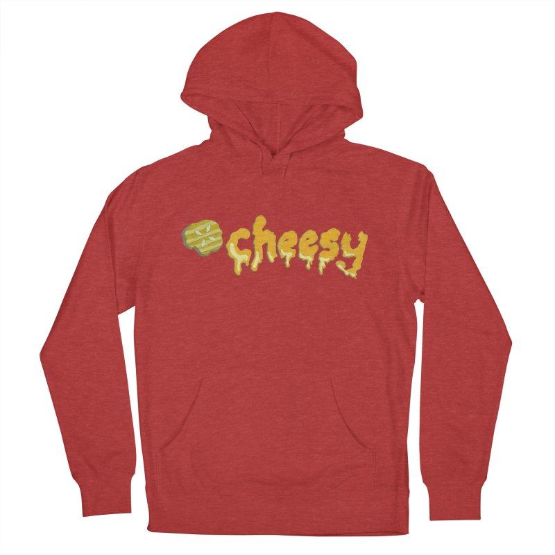 Cheesy T-shirt Women's Pullover Hoody by Flourish & Flow's Artist Shop