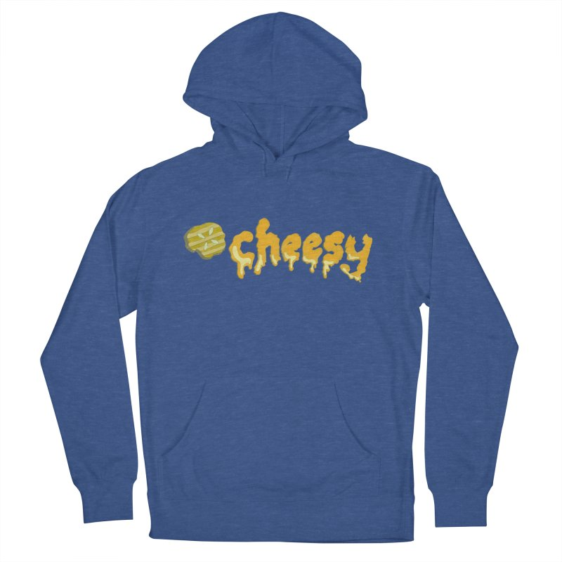 Cheesy T-shirt Men's Pullover Hoody by Flourish & Flow's Artist Shop