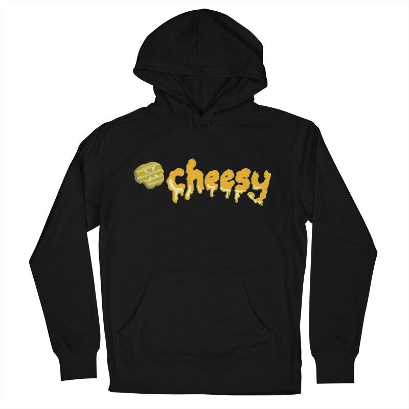 Cheesy T-shirt Men's Pullover Hoody by Flourish & Flow's Artist Shop