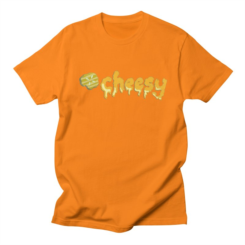 Cheesy T-shirt Men's T-shirt by Flourish & Flow's Artist Shop