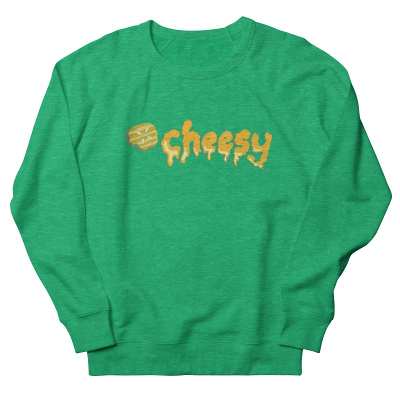 Cheesy T-shirt Women's Sweatshirt by Flourish & Flow's Artist Shop