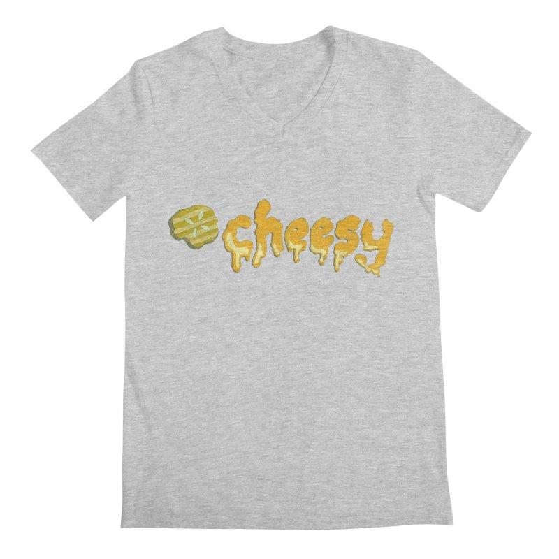Cheesy T-shirt   by Flourish & Flow's Artist Shop