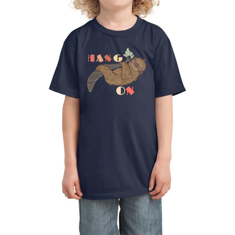 Hang On Kids T-Shirt by fluffymafi's Artist Shop