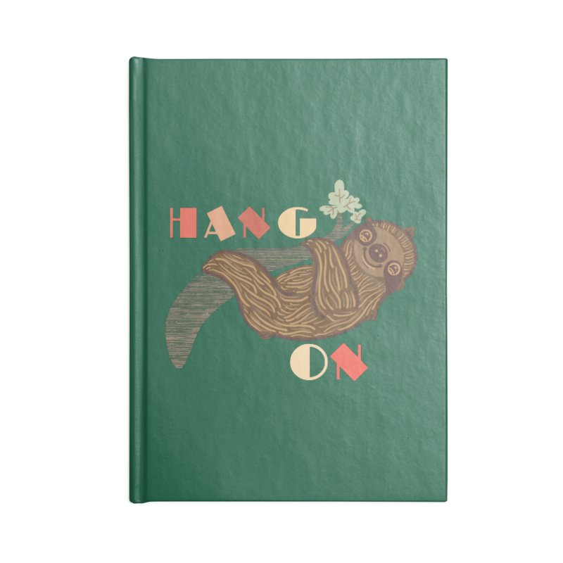 Hang On Accessories Notebook by fluffymafi's Artist Shop
