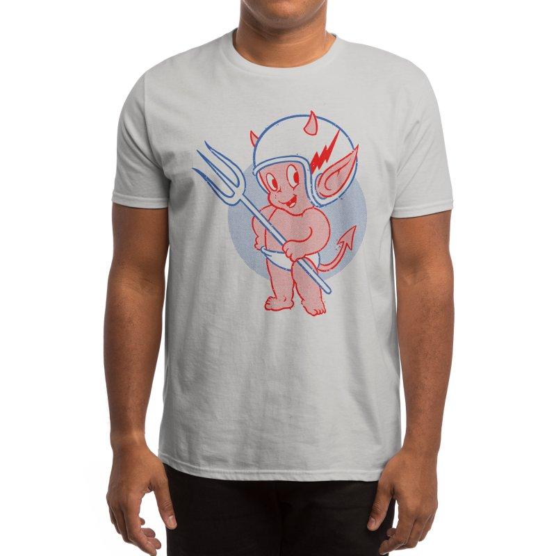 Hell Rider Men's T-Shirt by FlushDelay