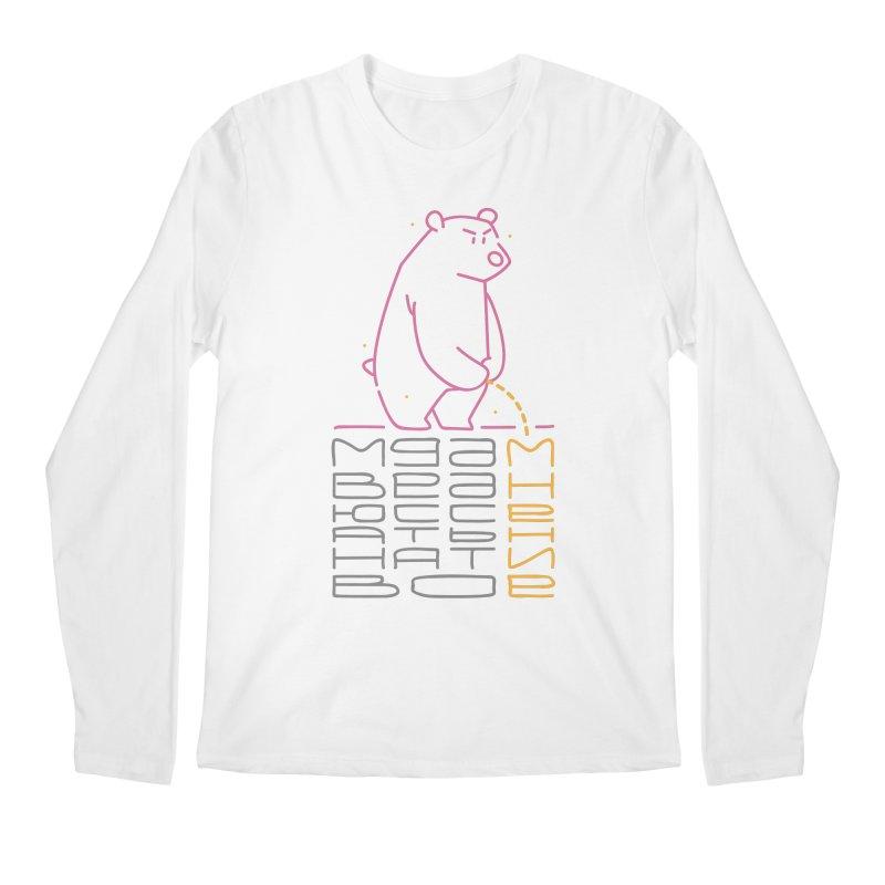 Bad bear Men's Longsleeve T-Shirt by alekksall's Artist Shop