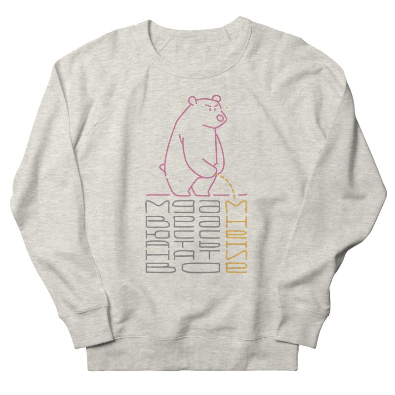 Bad bear Men's Sweatshirt by alekksall's Artist Shop