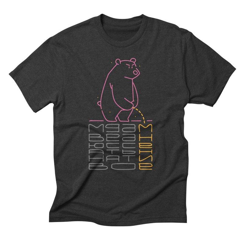 Bad bear Men's Triblend T-Shirt by alekksall's Artist Shop