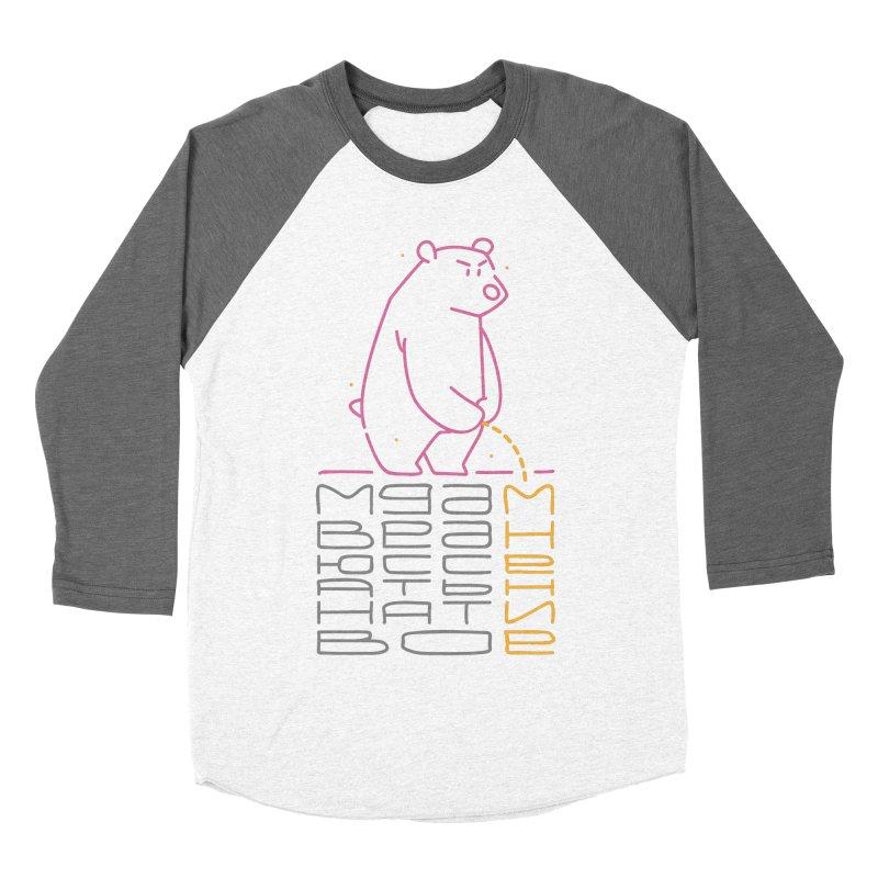 Bad bear Men's Baseball Triblend T-Shirt by alekksall's Artist Shop