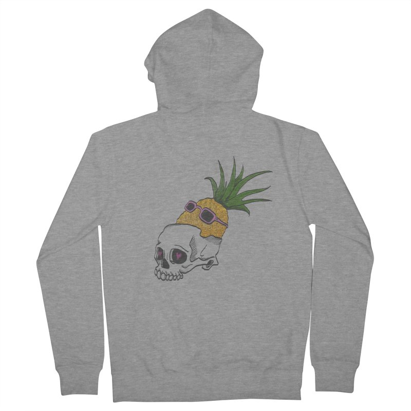 """When your brain is ready for summer"" Men's Zip-Up Hoody by flyazhel's Artist Shop"