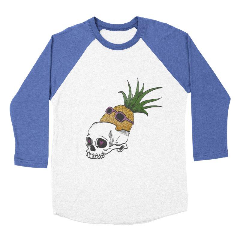 """When your brain is ready for summer"" Men's Baseball Triblend T-Shirt by flyazhel's Artist Shop"