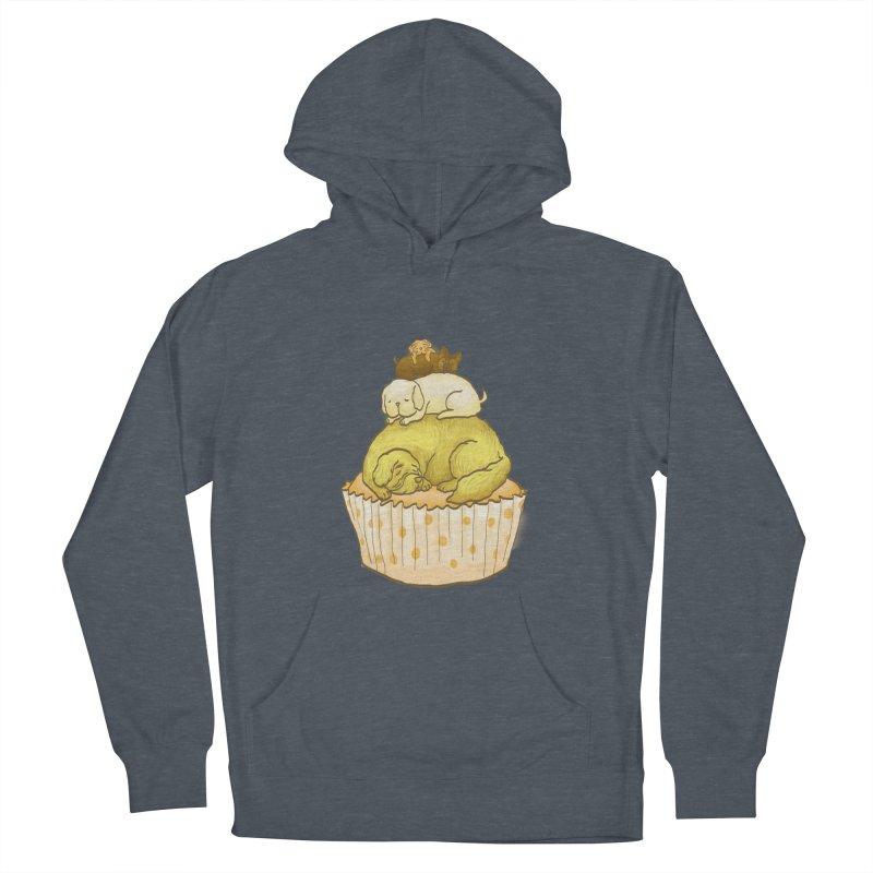 Pupcake Men's Pullover Hoody by flyazhel's Artist Shop