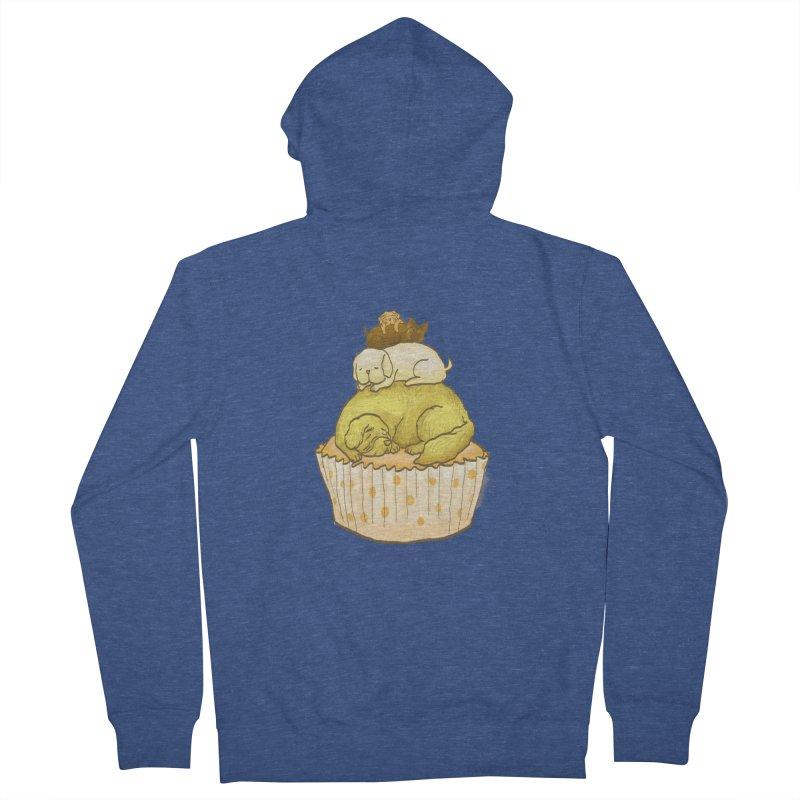 Pupcake Men's Zip-Up Hoody by flyazhel's Artist Shop