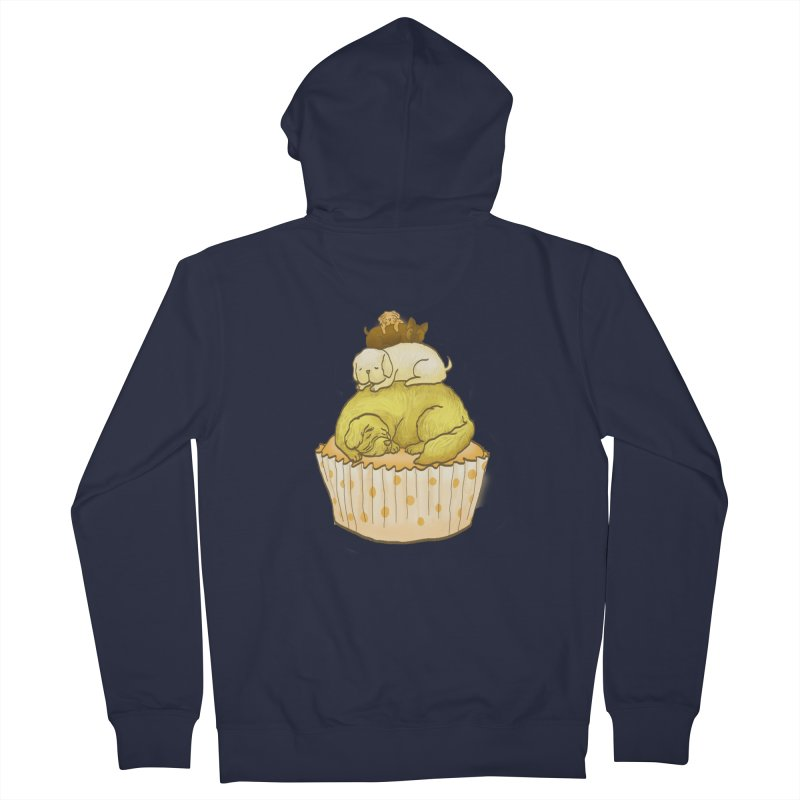 Pupcake Men's Zip-Up Hoody by flyazhel's Artist Shop