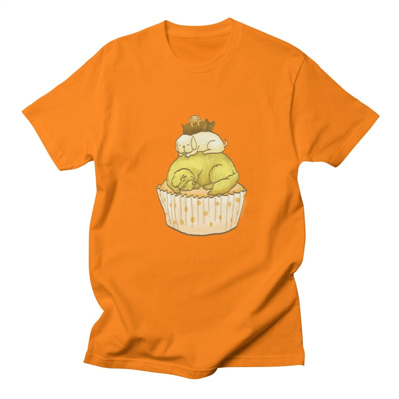 Pupcake Men's T-Shirt by flyazhel's Artist Shop