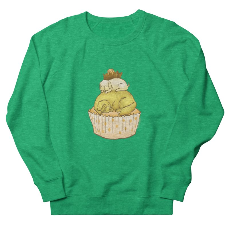 Pupcake Men's Sweatshirt by flyazhel's Artist Shop